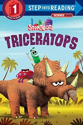 £3.25 • Buy Triceratops  StoryBots   Step Into Reading