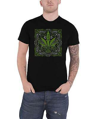 Cypress Hill T Shirt 420 Leaf Band Logo New Official Mens Black • 14.95£