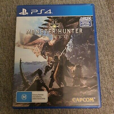 AU20.50 • Buy Monster Hunter: World - PS4 Game - Free Postage With Tracking