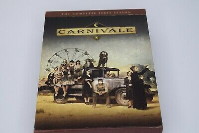 Carnivale - The Complete First Season (DVD, 2004, 6-Disc Set) • 7.15£