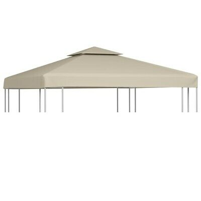 AU47.95 • Buy Water-proof Gazebo Cover Canopy Replacement 310 G / M² Beige 3 X 3 M
