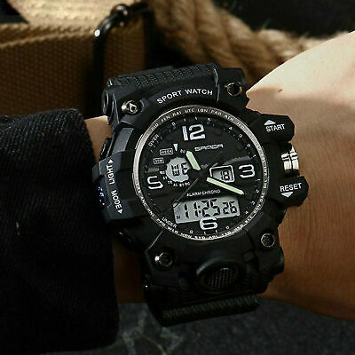 $ CDN15.31 • Buy 742 Military Men's Watches Top Brand Luxury Waterproof Sport Watch