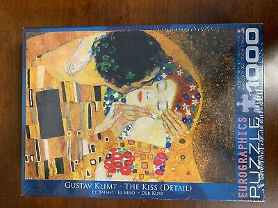$ CDN36.26 • Buy EuroGraphics Gustav Klimt The Kiss 1000 Piece Puzzle NEW AND SEALED