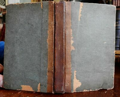 £75.49 • Buy Farmer's Receipt Medical Book Pocket Farrier Horses 1831 Concord NH Fisk & Chase
