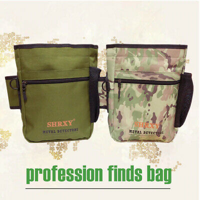 Metal Detecting Gold Finds Bag Multipurpose Digger Pouch For PinPointer Xp ProPo • 11.95£