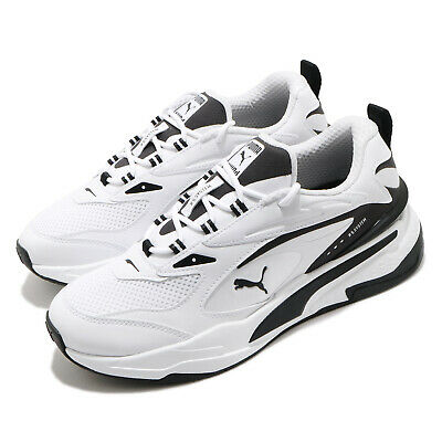 AU209 • Buy Puma RS-Fast Running System White Black Men Casual Shoes Sneakers 380562-03