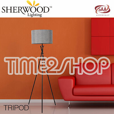 AU99.95 • Buy SAA Approved Tripod Floor Lamp Contemporary & Modern Soft Light - White & Latte