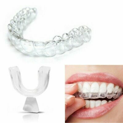Night Mouth Guard Teeth Clenching Grinding Dental Bite Sleep Aid Silicone Kit 4X • 2.99£