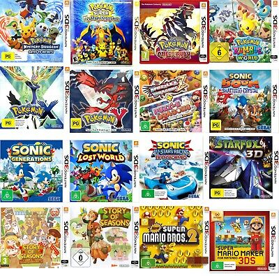 AU149.95 • Buy 142 Games In 1 Package NINTENDO 3DS/3Ds Xl/2DS/2DS XL