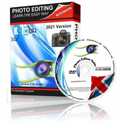 $ CDN12.19 • Buy Photo Editor Professional Image Editing PC Windows 10, 8, 7 & Mac