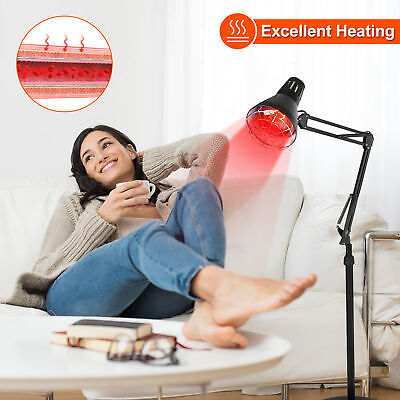 Red Light Therapy Lamp LED Infrared Light Device 150W Heat Lamp Relief Skin Pain • 30.99£
