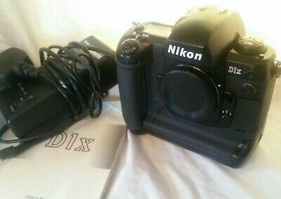 Nikon D1X Exc Con Body+Charger+Batteries +EH4 Mains+ Guide+ Bodycap+screen Cover • 200£