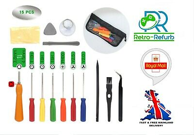 £9.95 • Buy 15 In 1 Repair Tool Kit For Nintendo Gameboy Switch 3DS DS Xbox 360 One PS3 PS4