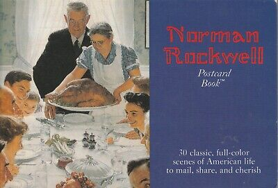 $ CDN14.93 • Buy Norman Rockwell, A Book Of 30 Oversized Postcards, Pub. By Running Press