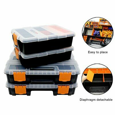 £18.13 • Buy Large Toolbox Household Maintenance Electrician Tool Box Multifunctional ^