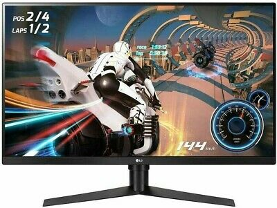 AU521.60 • Buy LG 32GK850F-B 32  1440p 144Hz UltraGear™ QHD Gaming Monitor HDR FreeSync™ 2 Z