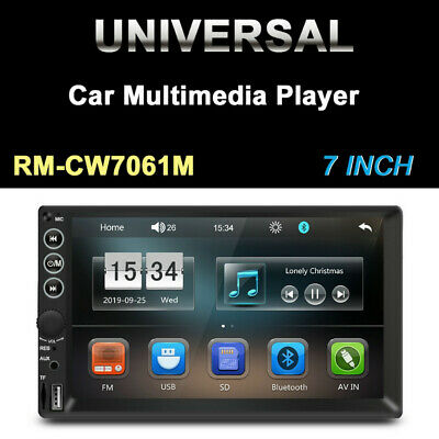 $48.99 • Buy 7inch 2DIN Car FM Stereo Radio MP5 Player Touch Screen Stereo Audio USB/TF/AUX