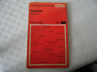 KESWICK OS SHEET 82, 1  MAP  £3.00 + P&P Each I HAVE MANY MORE PLEASE ASK • 3£