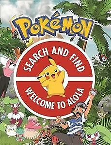 Official Pokemon Search And Find: Welcome To Alola, Paperback By Pokemon, Bra... • 6.80£