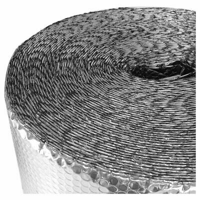 £25.71 • Buy 82FT Silver Foil Insulation Aluminium Bubble Thermal Roll For Loft Shed Wall Van