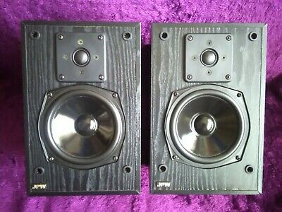 Vintage Jpw 'gold' Monitor' L/speakers/full Working Order & Excellent Condition • 14.50£