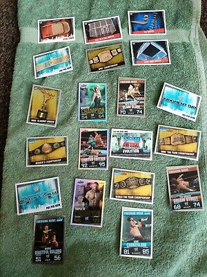 WWE Slam Attax Evolution Trading Cards • 3.50£