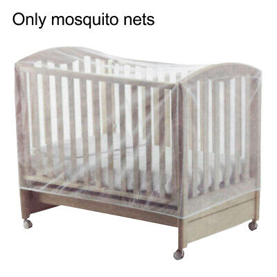 AU7.34 • Buy Mesh Accessories Summer Crib Mosquito Net Elastic Band Baby Cot Travel Portable