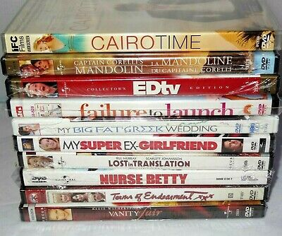 $ CDN15.30 • Buy Lot Of 10 New & Sealed Romantic Comedy DVDs