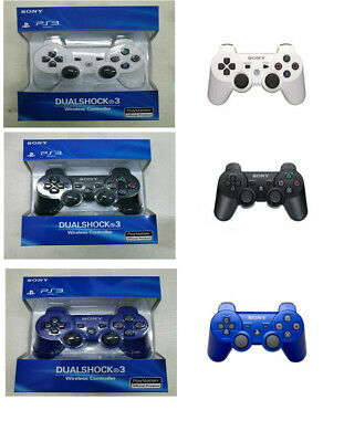 For SONY Ps3 Controller GamePad PlayStation 3 DualShock Wireless Bluthtooth UK • 12.96£