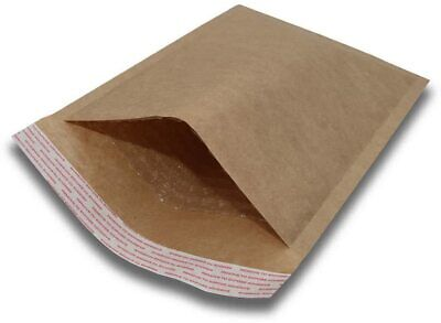 $ CDN32.40 • Buy 250 #00 5x10 Kraft Natural Paper Padded Bubble Envelopes Mailers Case 5 X10
