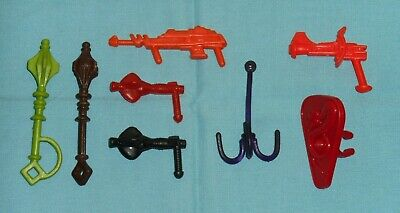 $59.90 • Buy Vintage Heman HE-MAN MOTU PARTS WEAPONS LOT #93 Masters Of The Universe