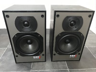 B&W DM100i Bowers And Wilkins Black Floor Standing Speakers Audiophile England • 125£