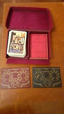 1933 Bezique Playing Card  Box Set, Collector's Item, All Cards Intact • 6£