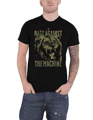 Rage Against The Machine T Shirt Pride Band Logo New Official Mens Black • 15.95£