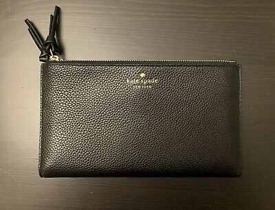$ CDN99 • Buy Kate Spade Mulberry Street Malea Wallet In Black **Brand New