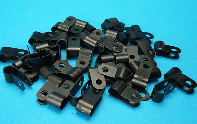 AU8.12 • Buy 100 X Cable Clips For Trailer 2 Core Trailer Electrical Cable
