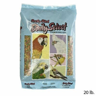 Pretty Bird Daily Select Medium Complete Parrot Food - 20lb • 64.99£