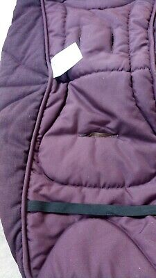 £30 • Buy Mamas And Papas Plum Tweed Cold Weather Footmuff
