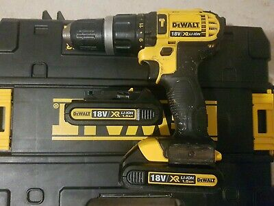 Dewalt Dcd785 Hammer Action Combi Drill 2 Batteries. Excellent Working Order • 82.99£