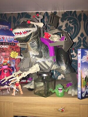 Dino Riders T Rex Rare Tyco Dinosaur Toy With Box Complete 1987 Fully Working • 850£