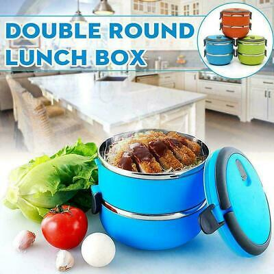 AU20.11 • Buy Food Flask Stainless Steel Lunch Box Thermos Vacuum Insulated Travel New W9 P3N7