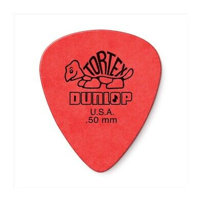 $ CDN1.71 • Buy Guitar Picks 0.5mm Thick Red Dunlop For Acoustic Electric Guitar Various Amounts