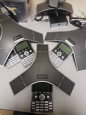 £40 • Buy Polycom SoundStation IP 7000 PoE Conference Phone Meeting Room Videowork Used
