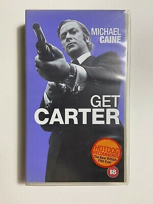 VHS Get Carter - Michael Caine Vintage Video Tape  • 4.99£