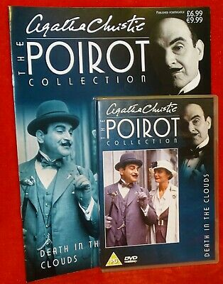 Agatha Christie The Poirot Collection - DVD & Magazine - Selection - Free P&P • 5.50£