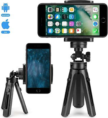 Universal Mini Mobile Phone Holder Tripod Stand Grip For IPhone Camera Samsung • 6.95£