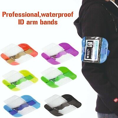 High Visibility Security Arm Band ID Badge Card Holder SIA Armband