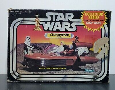 $ CDN183.50 • Buy Star Wars 1983 Vintage Landspeeder W/ Original Box, Flyer, Inner Cardboard