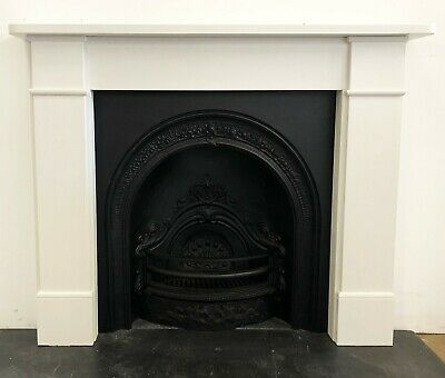 New White Stone Surround Complete With New Victorian Style Insert • 455£