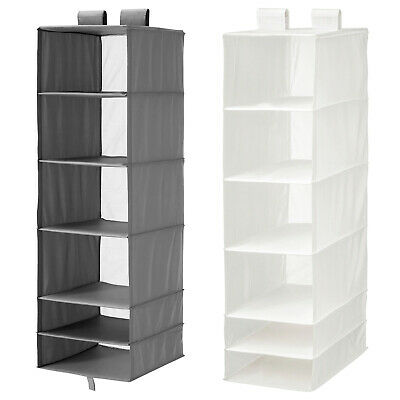 Ikea SKUBB Home, Office, Wardrobe Hanging Storage With 6 Compartments 2 Colour  • 16£